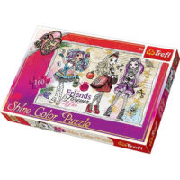 Trefl Shine Color Puzzle Ever After High Students 160 kom 30006