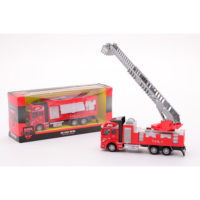 Super Cars Kamion Pull Back Fire Engine 26991