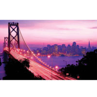 Fototapeta San Francisco City Golden Gate Bridge 368 x 254