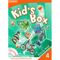 Kid s Box Level 4 Activity Book engleski jezik za 4. razred osnovne škole, radna sveska
