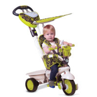 Smart Trike Dream Team zeleni tricikl 4u1 1590800