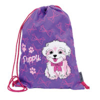 Pulse torba za patike violet puppy x20662