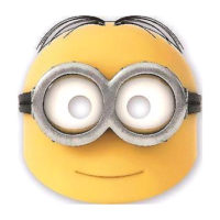 Procos Party Minions Maske 87187