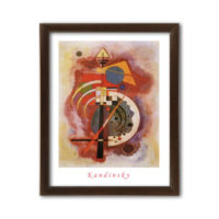Wassily Kandinsky - Hommage to Grohmann 40x50