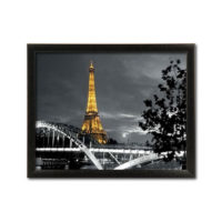 Slika Yellow Eiffel tower 40x50 cm