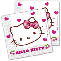Procos Party Salvete Hello Kitty Hearts 81794