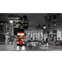 Fototapeta London City Red Bus Double Decker 368 x 254