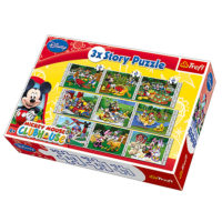Trefl Long Tale Mickey Mouse Club House 3xPuzzle Priča