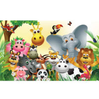Fototapeta Animal Jungle 368 x 254