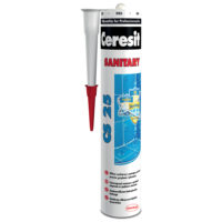 Ceresit CS 25 sanitarni silikon 280 ml - beli