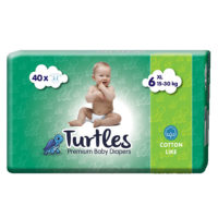 Turtles Pelene XL 6, 40 komada, 15-30kg