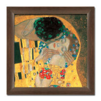 Slika Love by Klimt 70x70cm