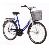 CITY Bicikl V-BIKE LUX 26 plava/bela