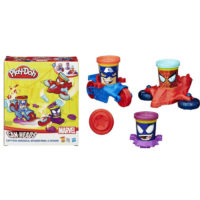 Play Doh Plastelin set Captain America, Spiderman, Venom B0606
