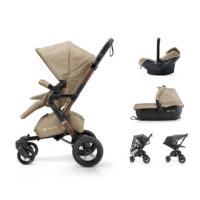 Concord NEO kolica za bebe TRAVEL-SET 3u1 Powder beige