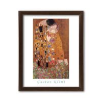 Gustav Klimt - The Kiss 40x50