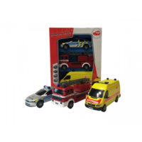 Dickie set SOS Team automobili 3pcs