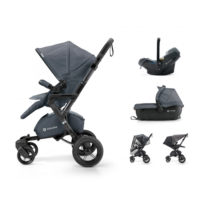 Concord NEO kolica za bebe TRAVEL-SET 3u1 Steel gray