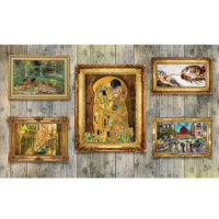 Fototapeta Paintings Art Luxury Wooden Wall 368 x 254