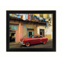 Slika Red Car 40 x 50 cm