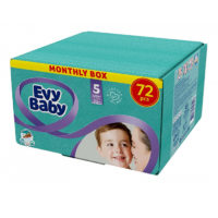 Evy baby pelene Box 5 Junior 12-25kg 72kom