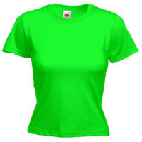 Fruit Of The Loom Majica Ženska Fit Crew Neck Tee Kiwi 610560KI