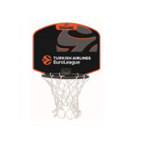 Spalding Mini Koš sa Loptom Euroleague Logo 77-622z