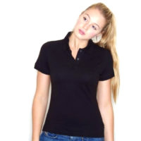 Fruit Of The Loom Majica Ženska Lady-Fit Polo Black 63560036