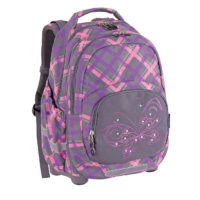 Pulse Ranac 2u1 Kids Plaid ButterFly x20643