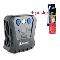 Michelin kompresor USB/LCD displej + gratis sprej lepak 300ml StacPlastic