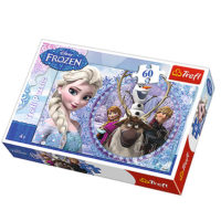 Trefl Puzzle Friends form the Frozen land 60 delova 17275