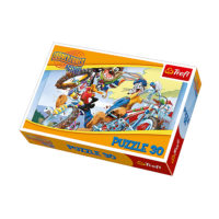 Trefl Puzzle Looney Tunes Bike Race 30 kom