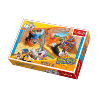 Trefl Puzzle Looney Tunes Reading Room 30 kom