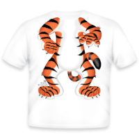 Just Add A Kid Majica Tiger Body 420