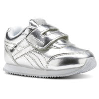 REEBOK CN1345-REEBOK ROYAL CLJOG 2 KC SILVER METALLIC/WHITE