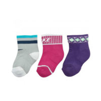 NIKE SX4812-904-NIKE 3PPK INFANT BOOTIE GIFTPACK (BABY S, BABY M, BABY L)