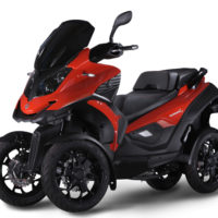 Maksi skuter Quadro Vehicles Q4