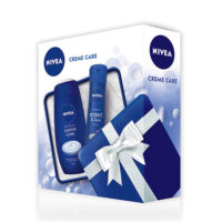 Nivea Set CREME CARE BOX - gel za tuširanje 250ml + deo sprej 150ml