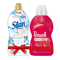 Silan AT Coconut Water Mineral Omekšivač 1.8L & Perwoll Renew Advanced Color Tečni deterdžent 900ml
