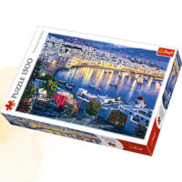 Trefl Puzzle Mykonos at sunset 1500 kom