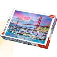 Trefl Puzzle Golden Gate, San Francisco 2000 kom