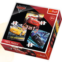 Trefl Puzzle Racing legends 3 in 1