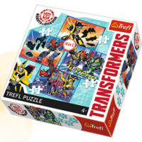 Trefl Puzzle Transformation time 4 in 1