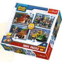 Trefl Puzzle Busy day 4 in 1