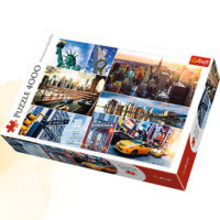 Trefl Puzzle New York - collage, 4000 kom