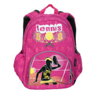 Pulse ranac school tennis pink