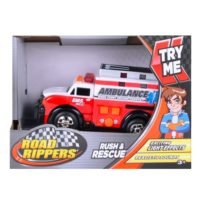 Autić Road Rippers Mini Rush & Rescue 11 cm SORTO