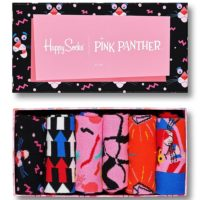 Happy Socks 6-Pack Pink Panther Collector Gift Box čarape