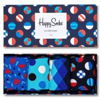 Happy Socks Navy Gift Box čarape