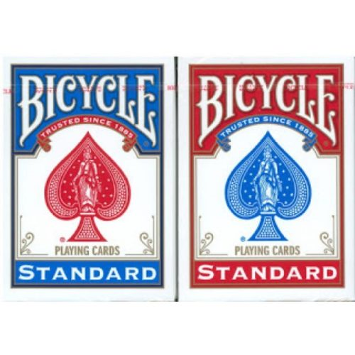 bicycle blue red rider back fro